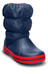 Crocs Winter Puff Boots Kids Navy/Red